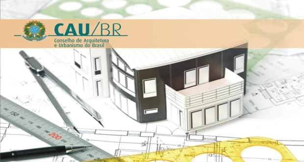 Inscrições abertas do concurso para o Conselho de Arquitetura e Urbanismo do Brasil