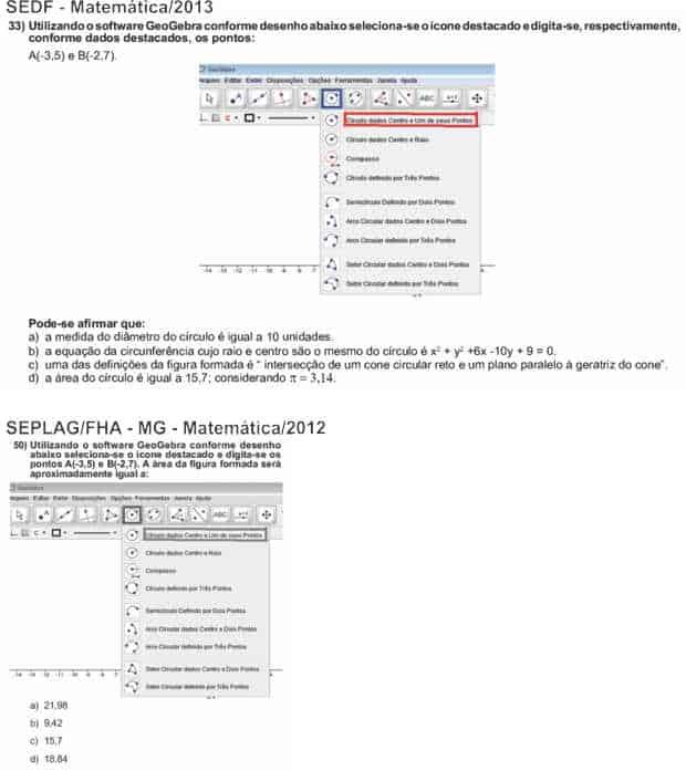 33 50 - IBFC copia questões de outro concurso para SEDF - atualizado 12/12/2013