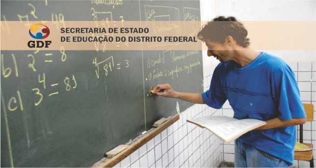 Publicado o edital para 6.500 vagas para Professor Temporário do DF SEDF