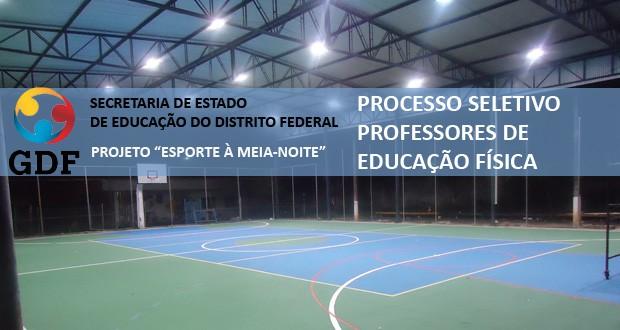 SEDF autoriza processo seletivo Professor de Educação Física