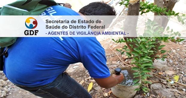 Processo seletivo para 460 Agentes de Vigilância Ambiental SESDF
