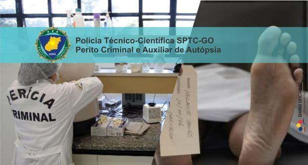 Concurso SPTC-GO: Divulgado os locais de provas para Perito e Auxiliar de Autópsia