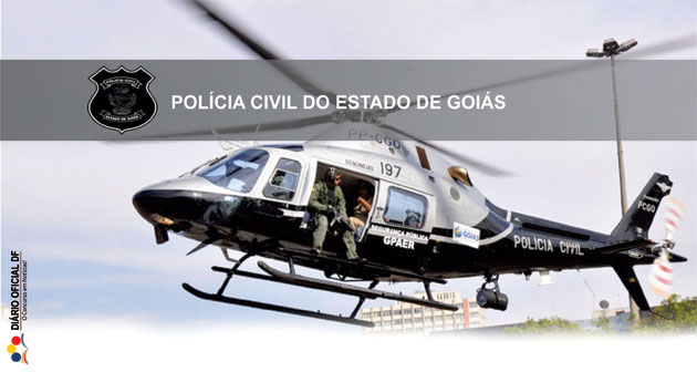 Concurso Polícia Civil-GO PCGO 2016: Cebraspe inclui conteúdo para os cargos de Agente e Escrivão