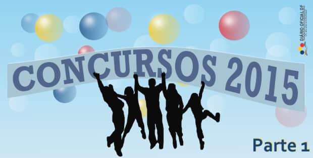 Concursos aguardados para 2015 – Parte 1