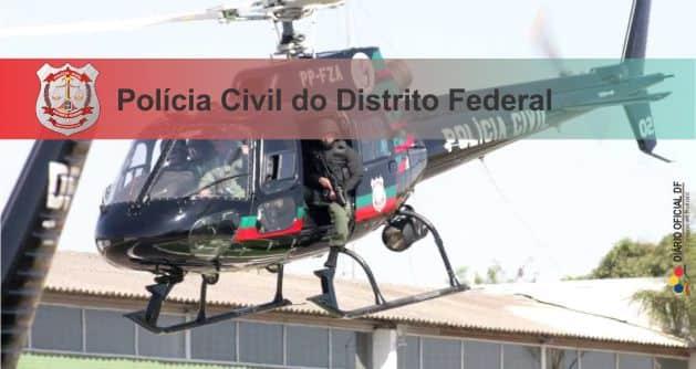 Concursos Polícia Civil PCDF: Universa divulga retificação para Delegado, Papiloscopista e Médico Legista