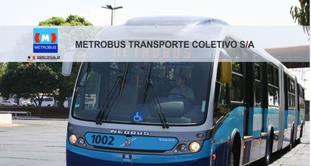 Concurso Metrobus GO 2016: Saiu o edital para os níveis médio e superior, são 238 vagas