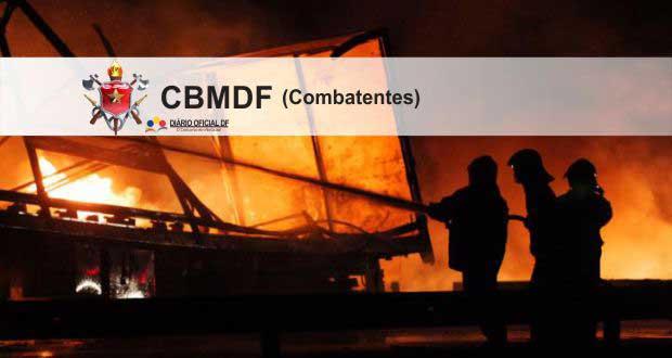 Concurso Bombeiros DF CBMDF 2016: Saiu o edital para Combatentes (CFOBM), são 115 vagas [Atualizado]