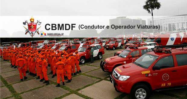Concurso Bombeiros DF CBMDF 2016: Saiu o edital para Soldado (CFPBM) – Condutor e Operador de Viaturas, são 112 vagas [Atualizado]