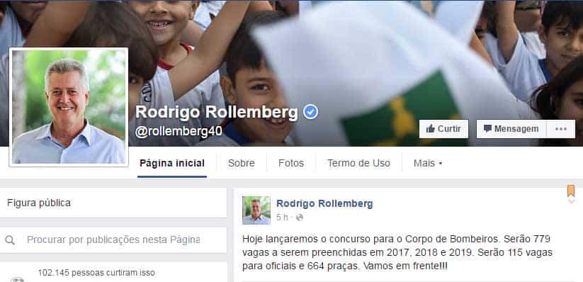 concurso publico cbmdf 2016 governador rollemberg - Concurso Bombeiros DF CBMDF 2016: Rollemberg anuncia edital para hoje (1º de julho)