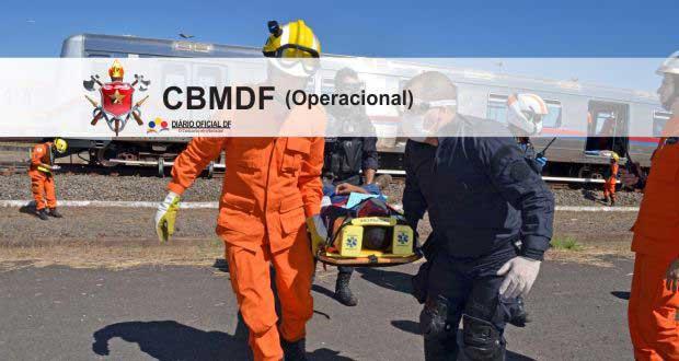 Concurso Bombeiros DF CBMDF 2016: Saiu o edital para Soldado (CFPBM) – Operacional, são 448 vagas [Atualizado]