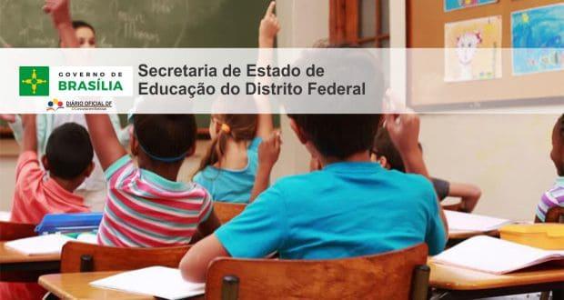 Professor Temporário SEDF 2016: Saiu o edital para contratação temporária da Rede Pública de Ensino do DF