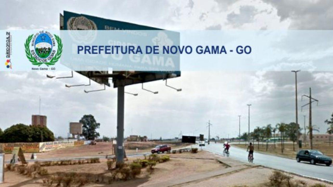Novo Gama Goiás fonte: www.diariooficialdf.com.br