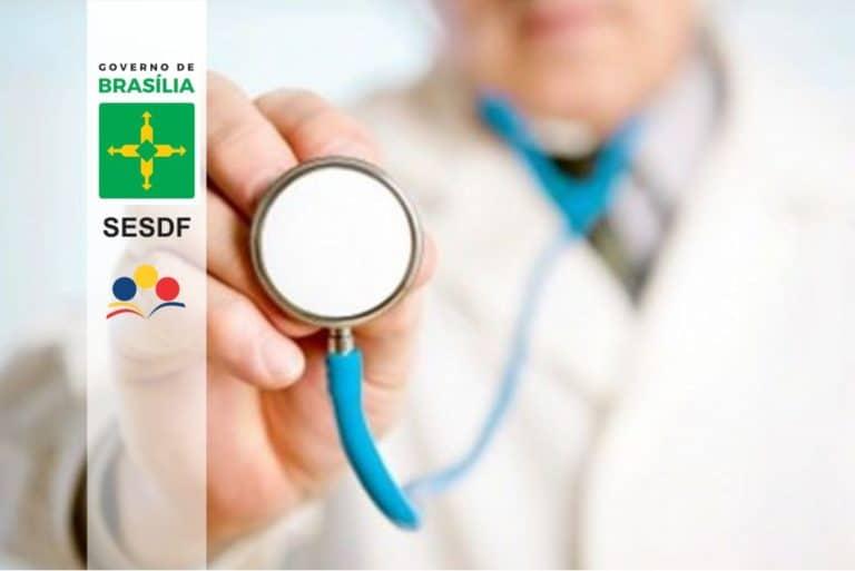 SESDF Especialista em Saúde: GDF faz décima sexta nomeação de aprovados