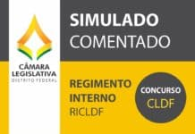 Concurso CLDF 2017: Questões do Regimento Interno da CLDF - RICLDF