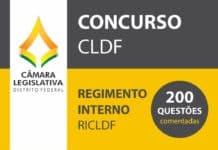 Simulado - Regimento Interno da CLDF - 200 Questões RICLDF Comentadas