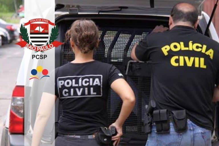 Concurso Polícia Civil SP PCSP: Governo anuncia concurso para nível médio e superior com 2.750 vagas