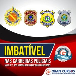 carreiras policiais 300x300 - Concurso PMSP Soldado: Governador autoriza 5.400 vagas de nível médio