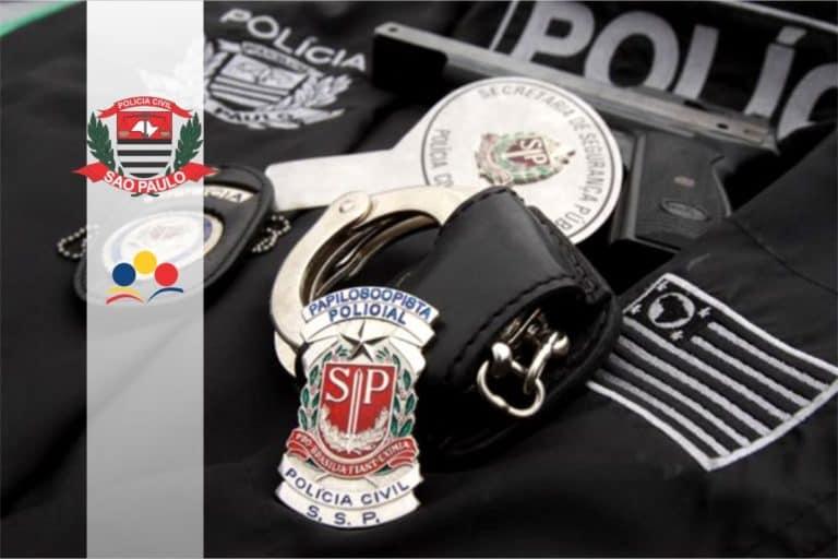 Concurso Polícia Civil SP (PC SP): Inscrições para 500 vagas de nível médio até 1º/06