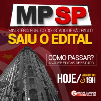 como passar no concurso mp sp - Concurso MP SP 2018: Aplicação da Prova Escrita e Discursiva dia 25/11