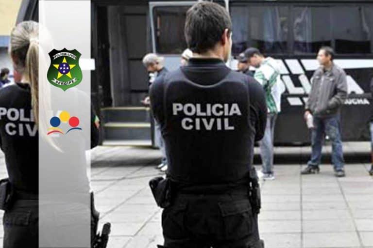 Concurso PC SE Delegado: Inscrições abertas até hoje, 20/08, para Delegado de Polícia Substituto. Inicial de R$ 11 mil