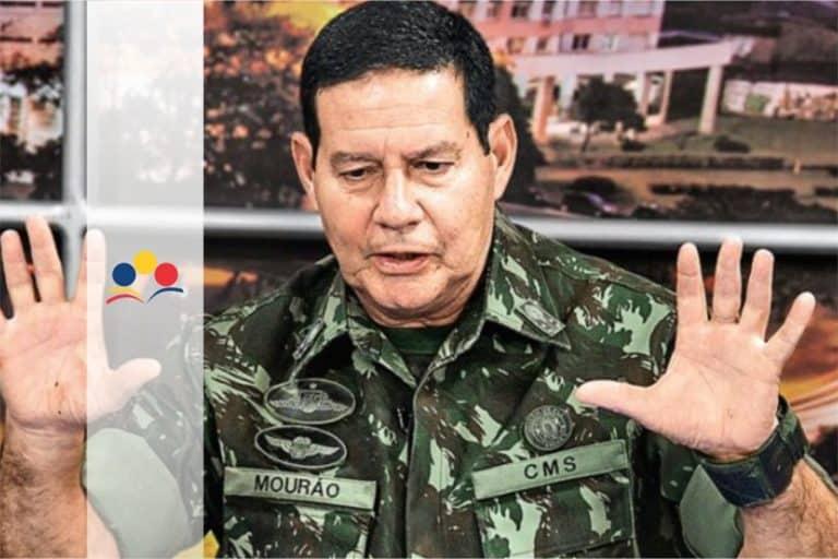 General Mourão defende fim da estabilidade no serviço público