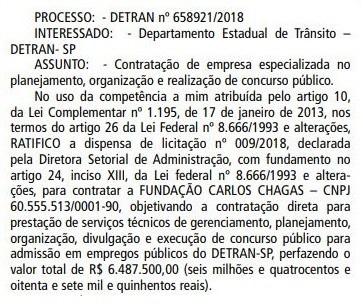 concurso detran sp banca definida - Concurso Detran SP: FCC definida para organizar concurso com 575 vagas!