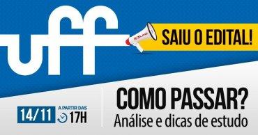 como passar uff saiu o edital 1 - Concurso UFF: SAIU o Edital para 190 vagas. Iniciais de até R$ 4,1 mil!