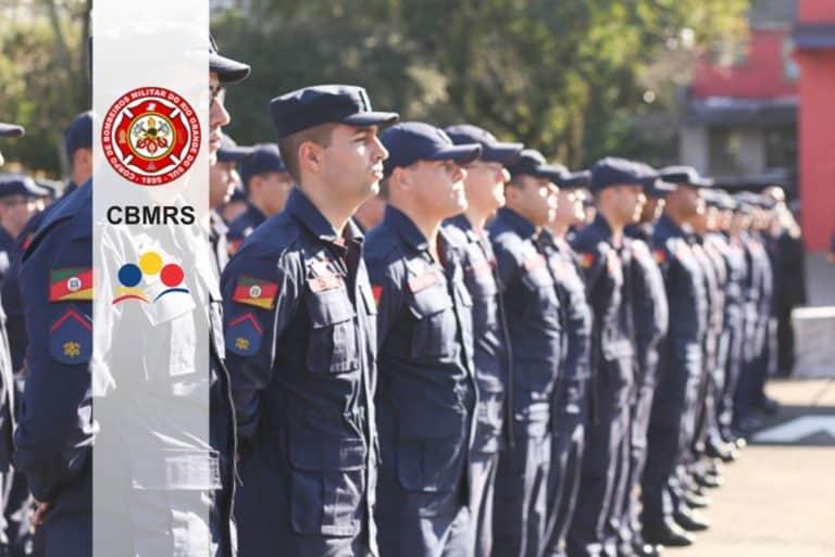 Concurso CBMRS 2018: Inscrições abertas para Oficiais Bombeiros e Brigada Militar