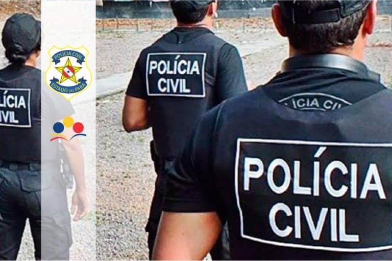 Concurso Polícia Científica do Pará: Cartão de inscrição com local de prova