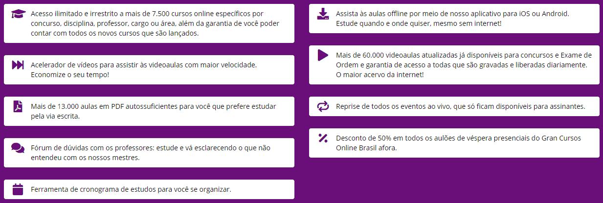 beneficios 2 assinatura ilimitada gran cursos online - → Cupom de 30% de DESCONTO no Gran Cursos Online