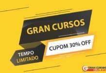 Cupom Gran Cursos DODF30