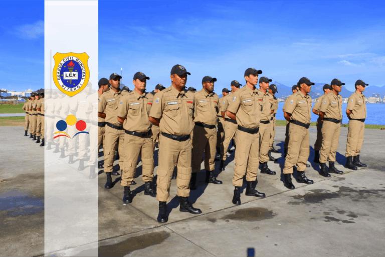 Concurso Guarda de Niterói RJ: SAIU o Edital com 142 vagas. Iniciais de R$ 2,8 mil!