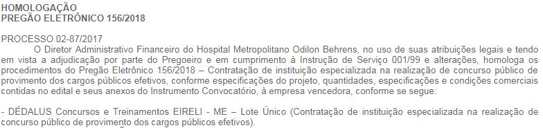 concurso hob mg 2019 organizadora - Concurso HOB MG 2019: Contrato assinado para 322 vagas! Até R$5.017,87!