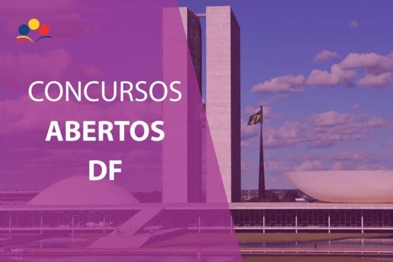 Concursos Abertos DF 2020: Confira a lista dos concursos do DF