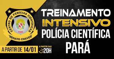 treinamento intensivo policia cientifica do estado do para - Concurso Polícia Científica do Pará: Cartão de inscrição com local de prova