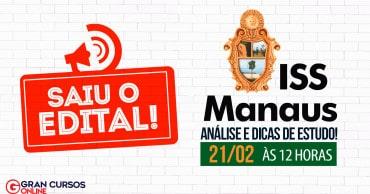 como passar iss manaus - Concurso SEMEF Manaus 2019: Inscrições são prorrogadas até sexta (12). Salário chega a R$ 17 mil