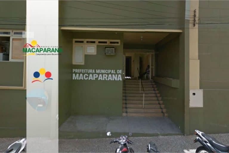 Concurso Prefeitura de Macaparana PE: Inscrições Abertas para 248 vagas!