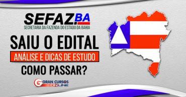 sefaz ba 2019 saiu o edital - Concurso Sefaz BA: Inscrições Abertas até sexta (5)! Inicial de R$ 19 mil!