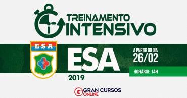 treinamento intensivo esa 2019 - Concurso ESA 2019/2020: Inscrições até quarta (20) para 1.100 vagas