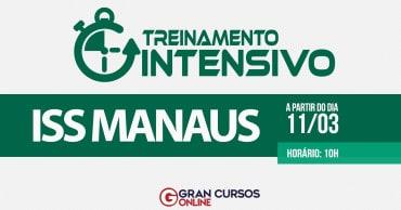 treinamento intensivo iss manaus - Concurso SEMEF Manaus 2019: Inscrições são prorrogadas até sexta (12). Salário chega a R$ 17 mil