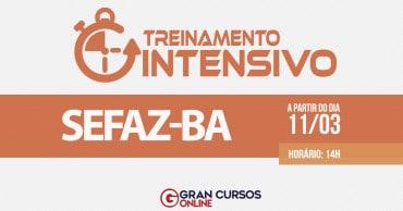 treinamento intensivo sefaz ba - Concurso Sefaz BA: Inscrições Abertas até sexta (5)! Inicial de R$ 19 mil!