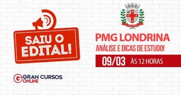 analise do edital pgm londrina - Concurso PGM Londrina PR: Inscrições Encerradas! Inicial de R$ 15,7 mil!