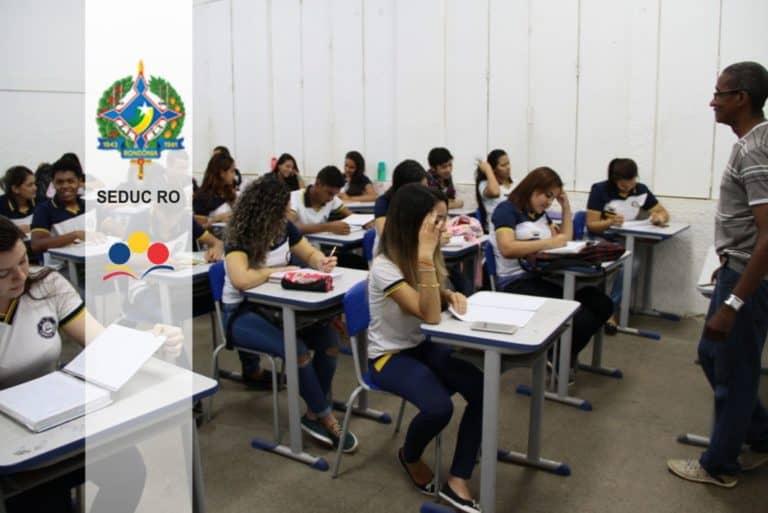 SEDUC RO 2019: Inscrições Encerradas para 850 vagas Temporárias