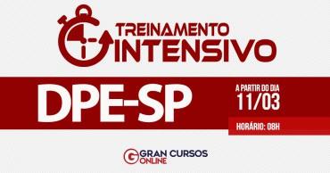 treinamento intensivo dpe sp - Concurso DPE SP Defensor: Inscrições Encerradas para 40 vagas. Inicial de R$ 25,6 mil!