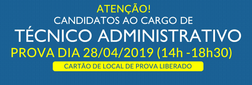 local de prova sedest tecnico administrativo - Concurso SEDEST: Divulga Cartão com local de provas para Técnico Administrativo