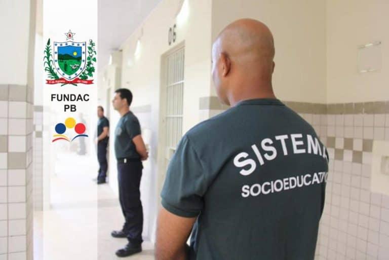 Concurso FUNDAC PB: Edital com 400 vagas para Agente Socioeducativo