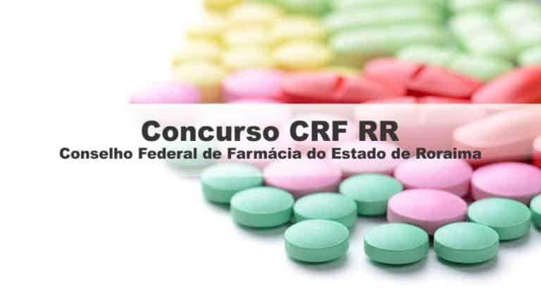 Concurso CRF RR: Banca Definida! Edital ainda este ano!