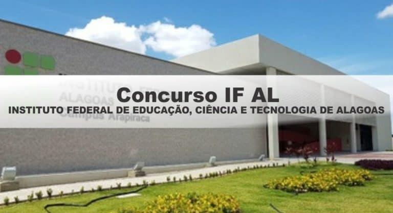 Concurso IFAL 2019: Inscrições Abertas para vagas de nível superior