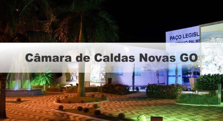 Concurso Câmara de Caldas Novas GO 2019: Prova em outubro