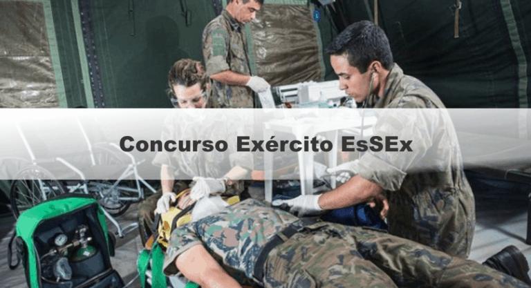 Concurso Exército EsSEx 2019: Provas em outubro